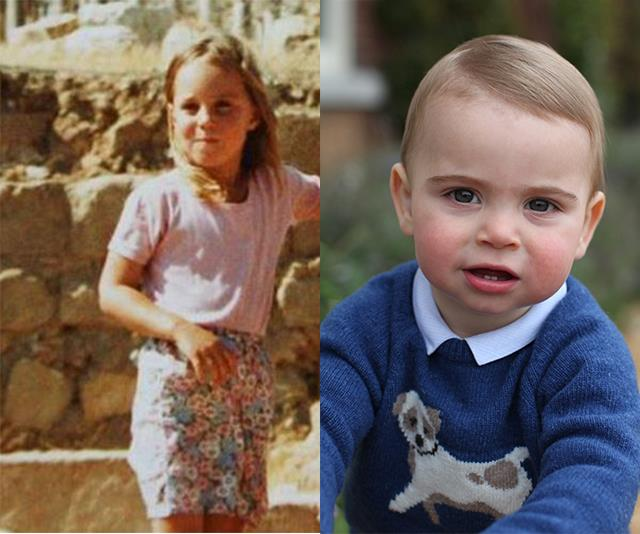 Could Prince Louis be a mummy's boy? *(Images L-R The Middleton Family/Chris Jackson/Getty)*