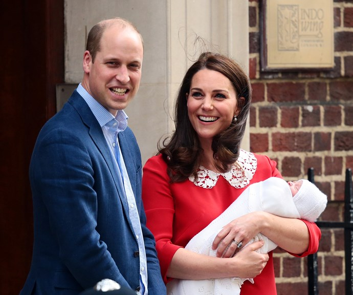 """After smiling and waving for the cameras, the [brand new parents](https://www.nowtolove.com.au/royals/british-royal-family/prince-louis-birth-certificate-47983