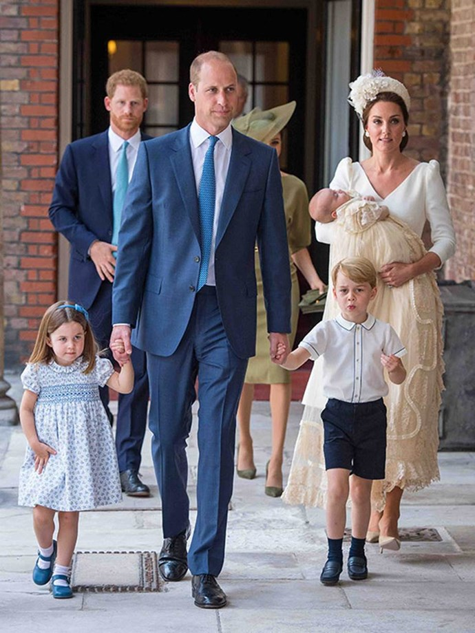 And for the first ever time, the Cambridge's were pictured as a family of five at the milestone event - a sight for sore eyes, if we ever saw one! *(Image: Getty)*