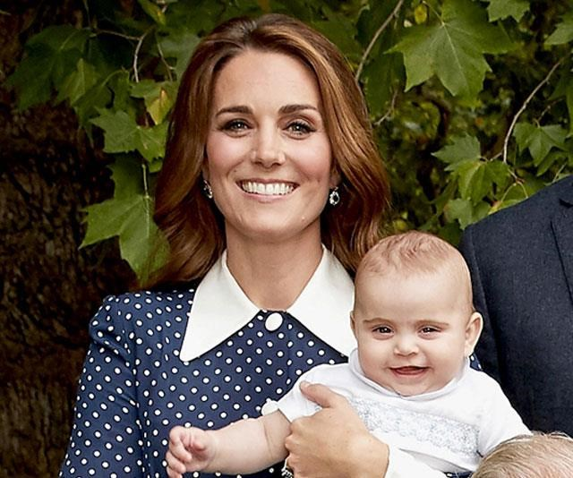 The young Prince looked cute-as-a-button with mum Kate as they both shared dazzling smiles for the camera. *(Image: Getty - Images are part of a set to mark His Royal Highness's 70th birthday.)*