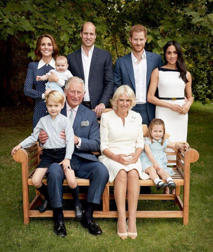 "In November 2018, Prince Charles [rung in his 70th birthday](https://www.nowtolove.com.au/royals/british-royal-family/prince-charles-prince-louis-52547|target=""_blank"") with a brand new picture of his growing extended family - including his seven-month-old grandson Prince Louis! *(Image: Getty - Images are part of a set to mark His Royal Highness's 70th birthday.)*"