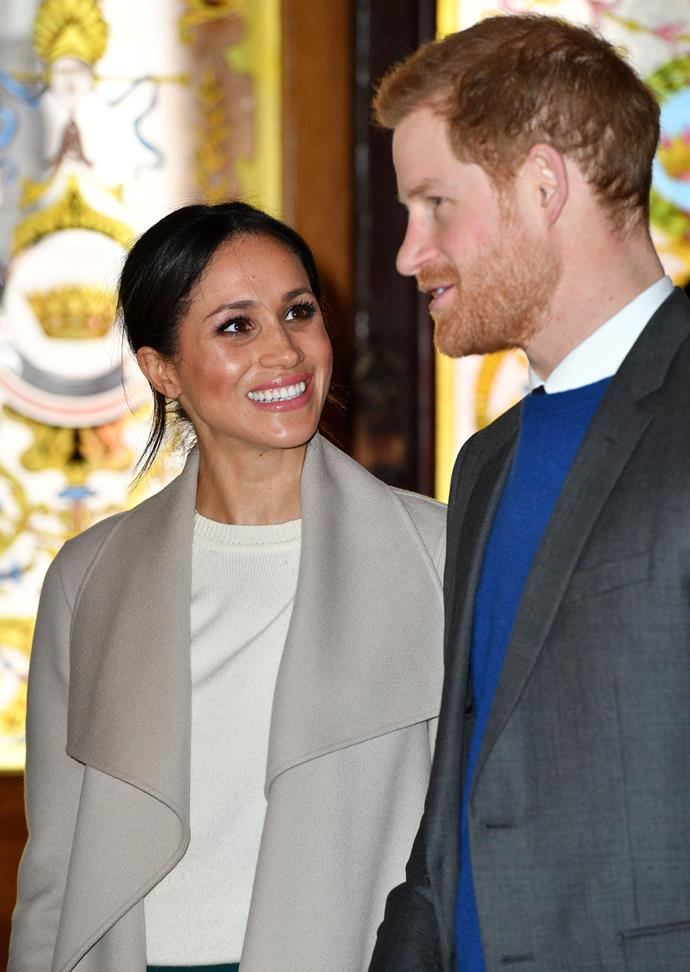 Tim says Harry and Meghan's connection is undeniable. *(Image: Tim Rooke/Shutterstock)*