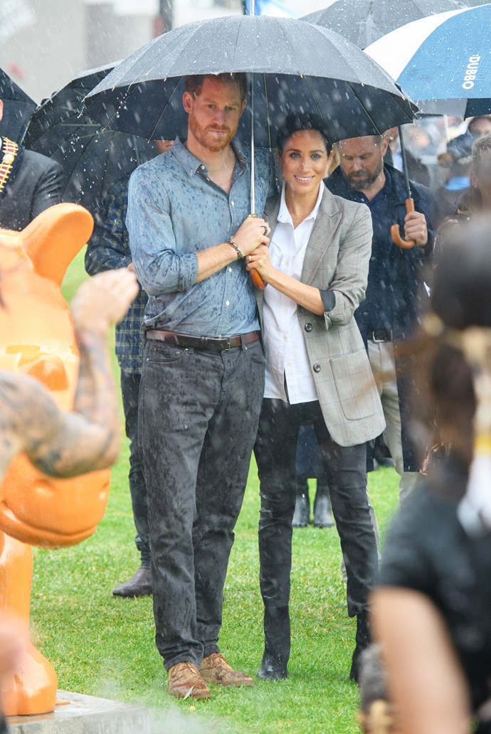 Tim said the royals took their 16-day tour in their stride. *(Image: Tim Rooke/Shutterstock)*