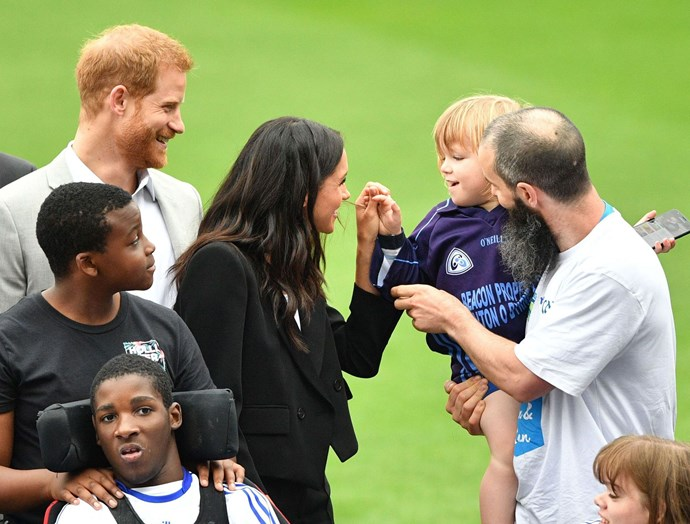 Tim said Harry and Meghan's choice to opt for a different way to debut their child is entirely understandable. *(Image: Tim Rooke/Shutterstock)*