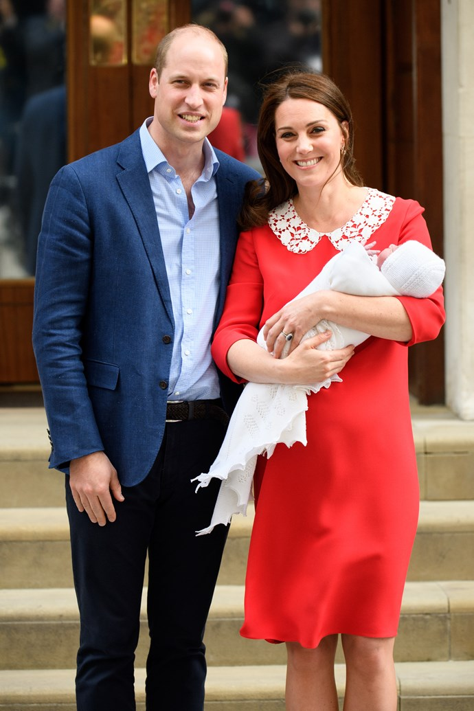 Tim has seen Wills and Kate welcome their three new children to the world. *(Image: Tim Rooke/Shutterstock)*