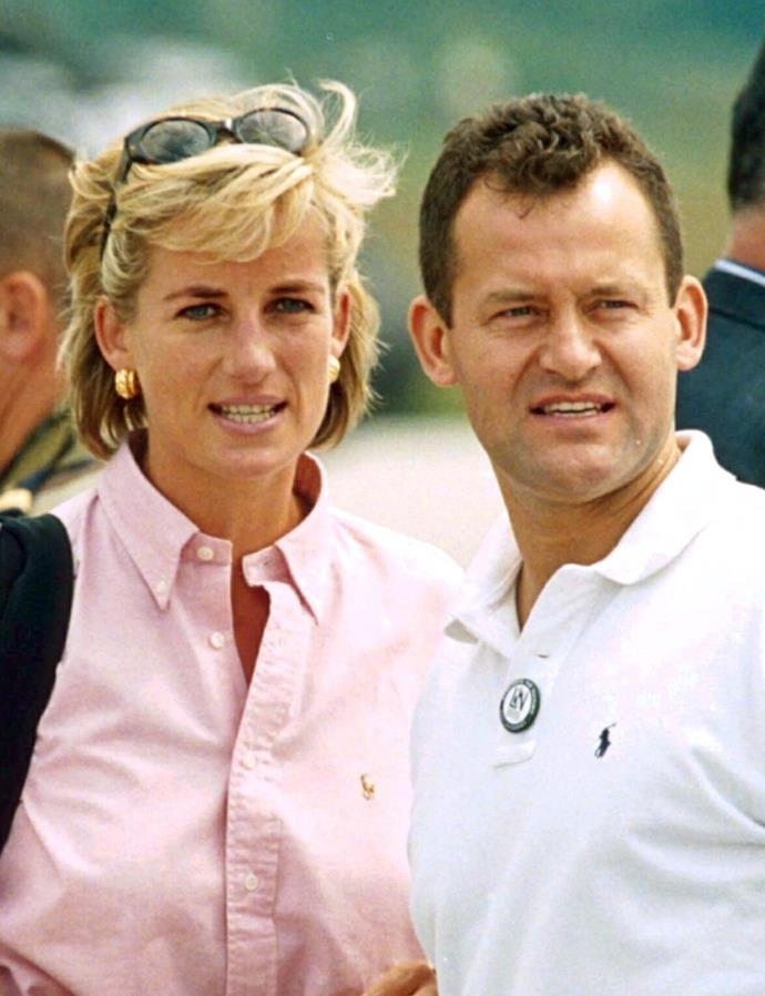 Rooke captured a now-iconic photo of Princess Diana and Paul Burrell back in August 1997. *(Image: Tim Rooke/Shutterstock)*