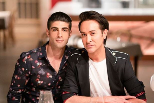 Romel, left, says MKR has opened him up to new opportunities (Image: Channel Seven).