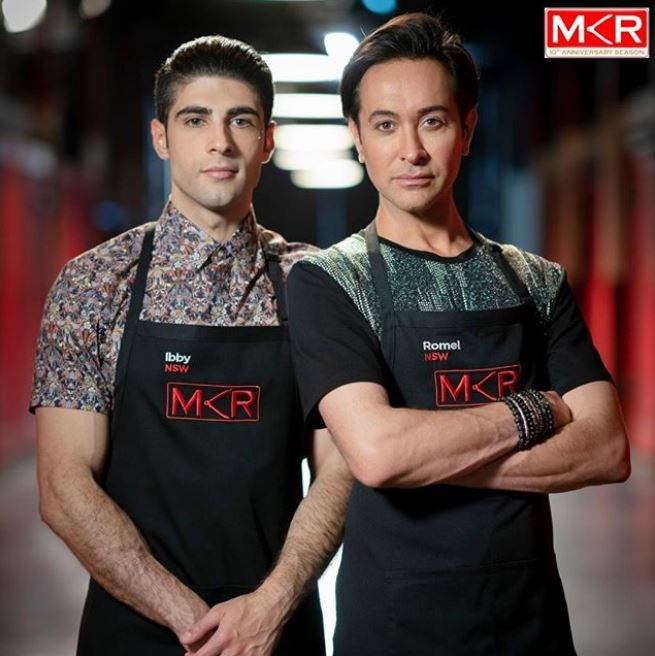 Ibby and Romel are heading to the Grand Final of MKR (Image: Channel Seven).