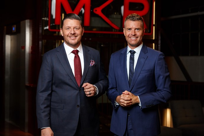 Pete and Manu will have their final say in the MKR Grand-Final (Image: Channel Seven).