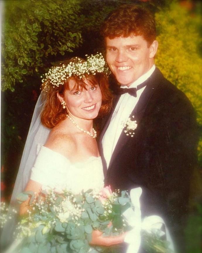 Scott and Jenny on their wedding day. *(Image: @scottmorrisonmp/Instagram)*