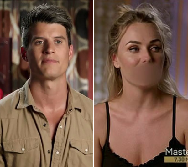 Bill and Flo had it out after Bill denied trying to sleep with her. *(Source: Network Ten)*