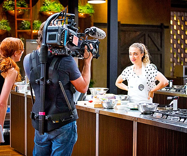 Turns out there *can* be some allowances when it comes to plating up! *(Image: Network Ten)*