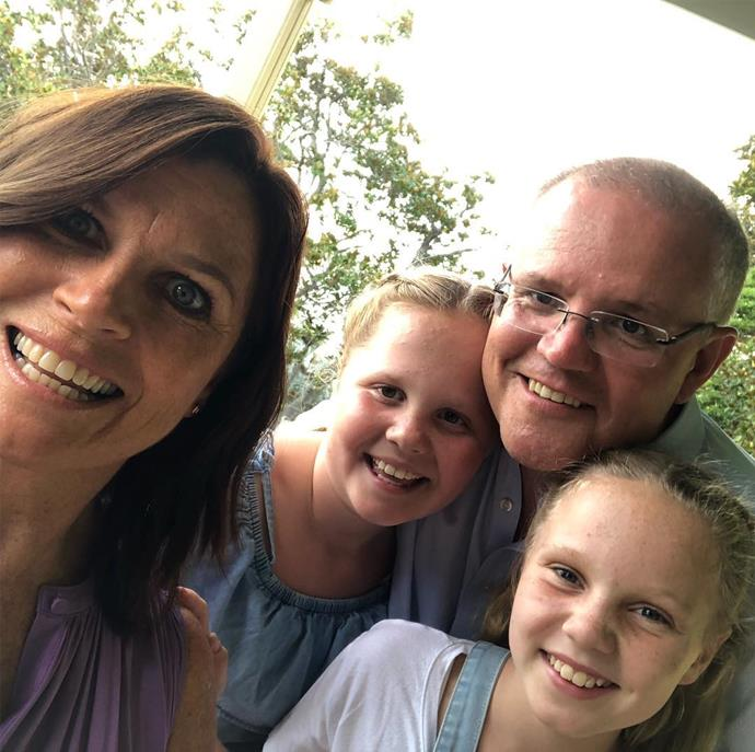 Even the PM takes selfies with his family! *(Image: @scottmorrisonmp/Instagram)*