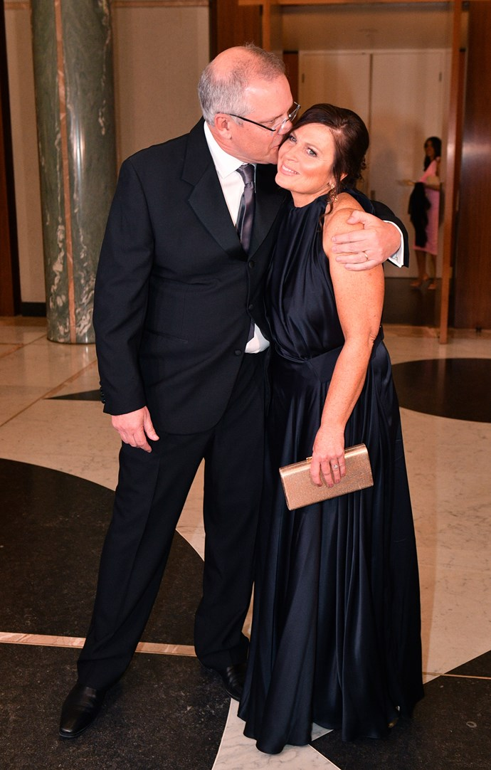 Jenny looking stunning in a Bianca Spender gown. *(Image: Getty)*