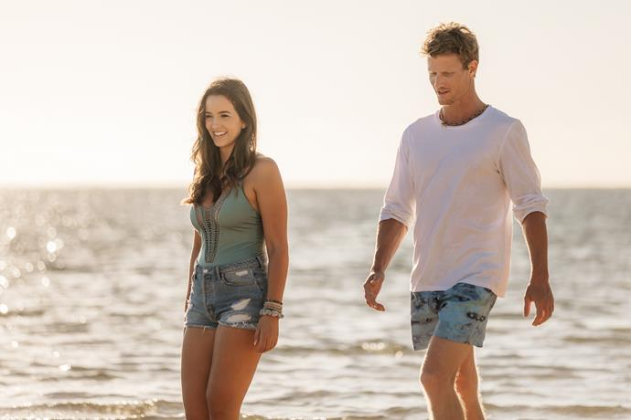 Could Caroline find love with Richie? (Image: Network 10).