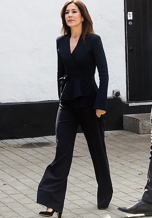 **April 2019, Denmark** <br><br> We rarely see Mary in a pant suit, but boy was this worth the wait! The royal oozed effortless chic as she stepped out to attend the opening of the Danish Science Festival in Klampenborg. The event is set to attract more than 70,000 visitors. *(Image: Getty)*