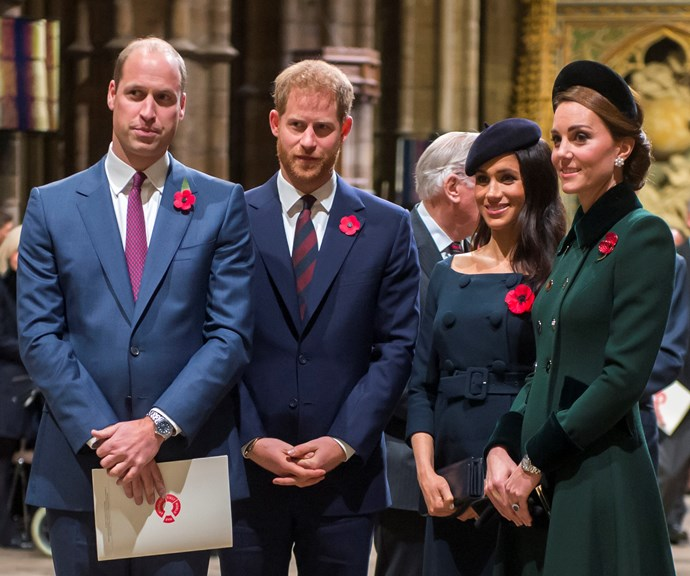 The Cambridges and the Sussexes will now operate independently. *(Image: Getty)*