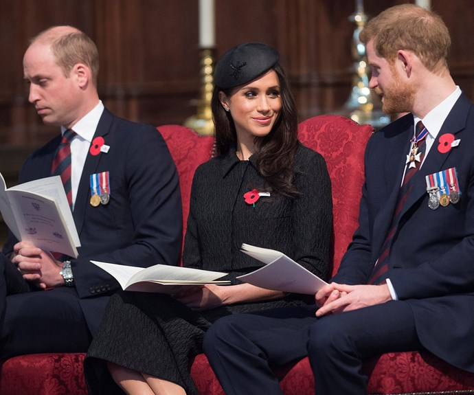 William reportedly encouraged Harry to slow things down with Meghan. *(Image: Getty)*