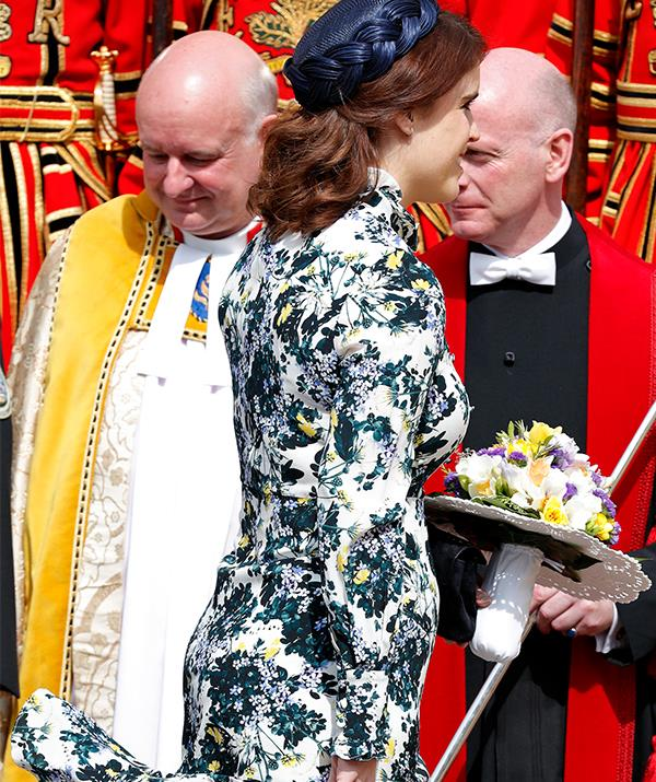 The Princess' choice of wearing florals could be a VERY telling clue... *(Image: Getty)*