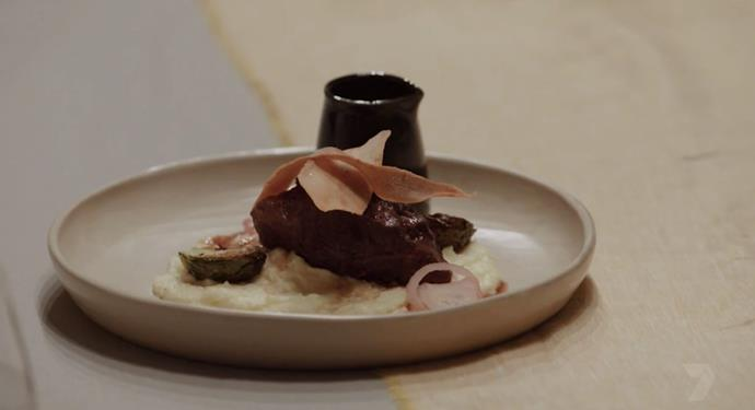 Matt and Luke's Beef Cheeks were their crowning glory (Image: Channel Seven).