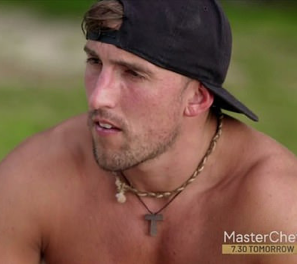 Ivan behaved appallingly on Sunday's episode of *Bachelor in Paradise*. *(Source: Network Ten)*