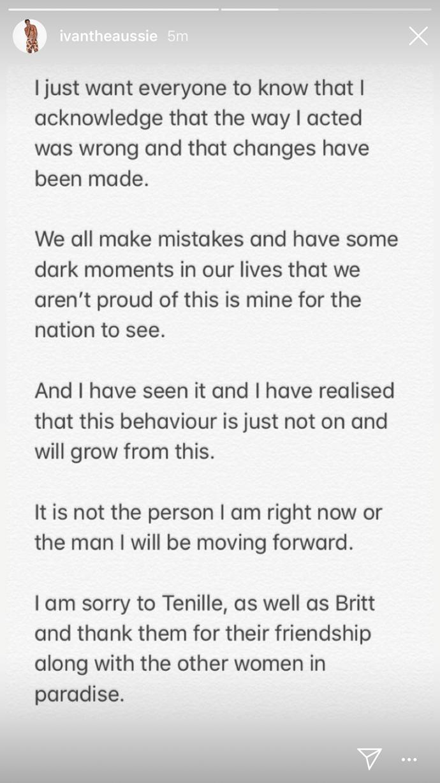 Ivan's post continued. *(Source: Instagram/ivantheaussie)*