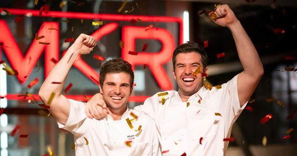 MKR 2019 winners Matt and Luke reveal plans for prize-money
