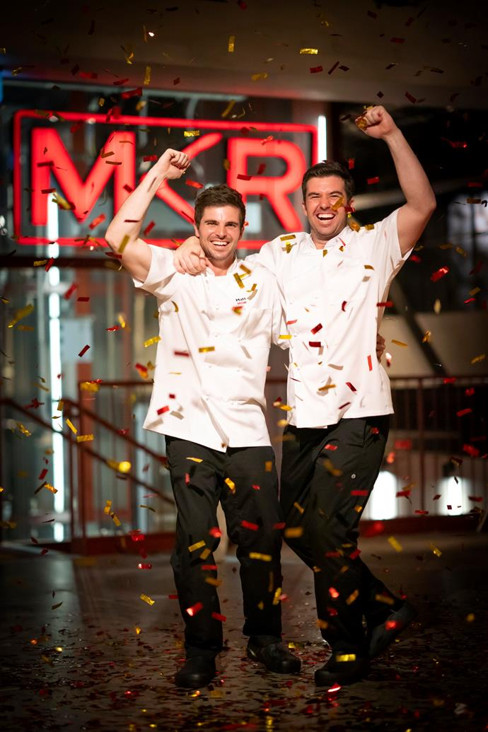 Matt and Luke are keen to make the most of their *MKR* success (Image: Channel Seven).