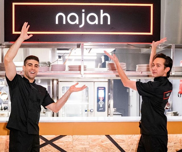 Ibby and Romel say that their decision to hire a kitchen hand wasn't a choice. *(Image: Channel Seven)*