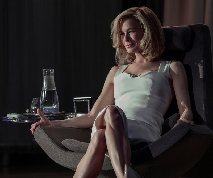 Renee Zellweger in the Netflix thriller *What If*.