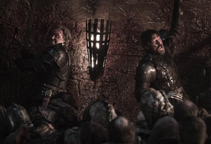 Brienne and Jamie team up (Image: Helen Sloan/HBO)
