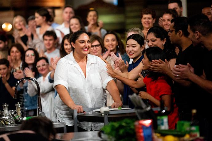 Jess considers *MasterChef* a whole new chapter (Image: Network 10).