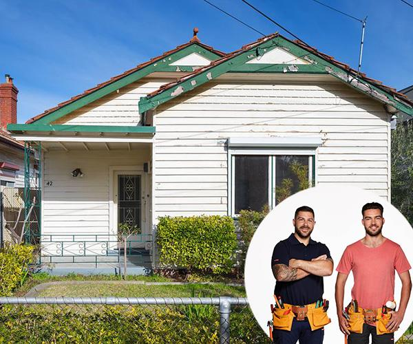 This season we'll see brothers Tim and Mat and their house in Thornbury, Victoria. *(Image: realestate.com.au)*