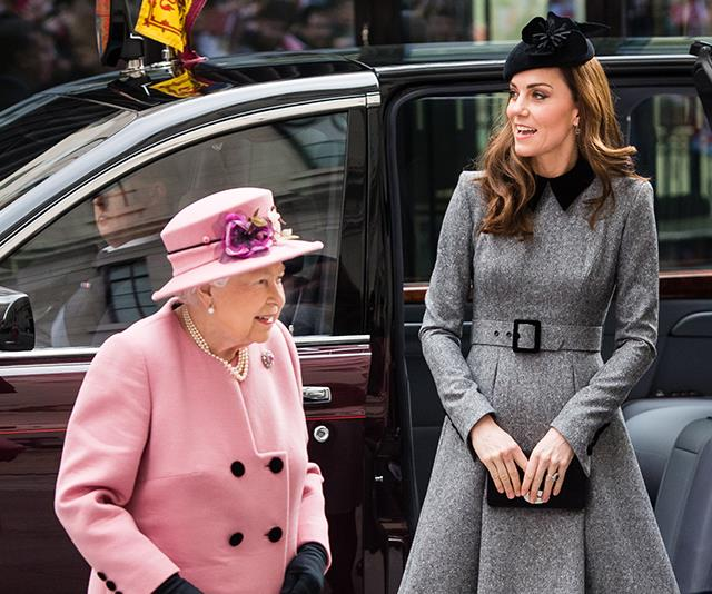 The Queen and Duchess Catherine share a special bond. *(Image: Getty Images)*