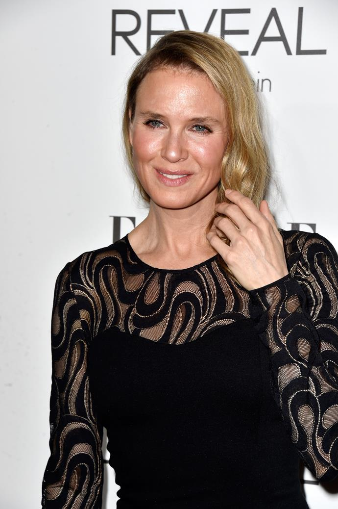 Renee Zellweger at the 2014 Elle Women In Hollywood event. *(Image: Getty)*