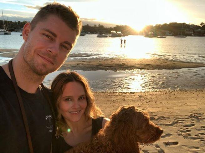 Luke, Bec and Alfie are back in Australia (Image: *Instagram/@lukemitchell17*)
