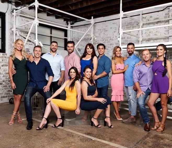 Pete and Courtney are on of six teams competing on House Rules (Image: Channel Seven).