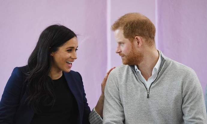 It's expected that Meghan and Harry might opt for a non-traditional name for Baby Sussex. *(Image: Getty)*