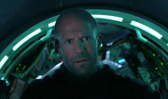 Shark-fest *The Meg* is one of many movies coming to Netflix (Image: Netflix).