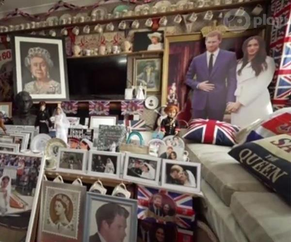 It's safe to say Margaret is a fellow super-fan, take a look at her house! *(Image: Network Ten)*