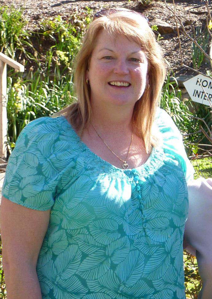 Lynne when she was at her heaviest. *(Image: Supplied)*