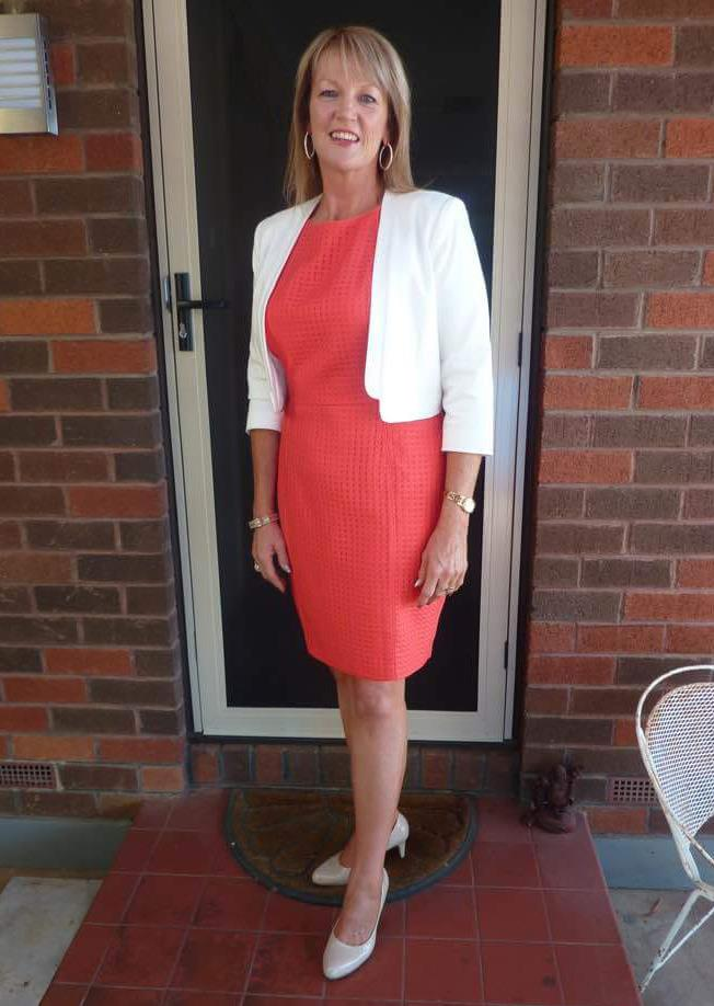 Lynne after her 30kg weight loss. *(Image: Supplied)*