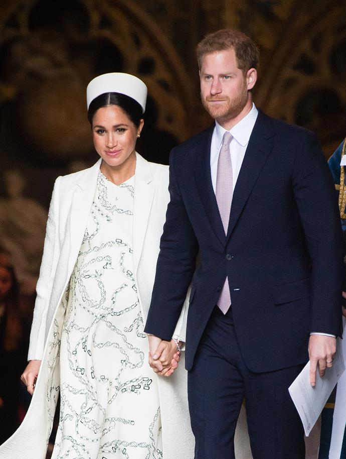Prince Harry and his wife, Duchess Meghan Markle are due any day now. *(Source: Getty)*