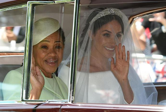 Doria will no doubt be a huge source of support for Meghan and Harry as they enter this exciting next chapter. *(Image: Getty)*