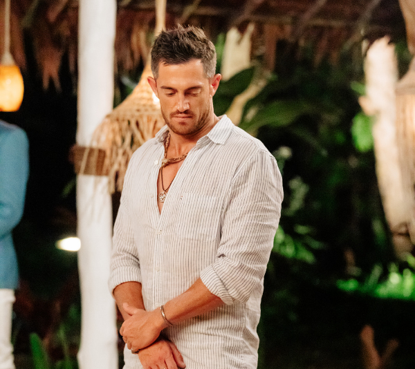 Mack Reid is *not* happy with the edit he received on *Bachelor in Paradise*. *(Source: Network Ten)*