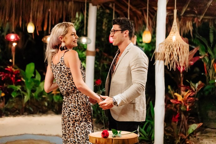 Connor asked Shannon to leave Paradise and make a go of it together. *(Source: Network Ten)*