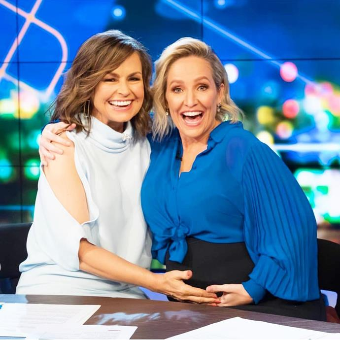 Fifi and her *Project* co-host Lisa Wilkinson.