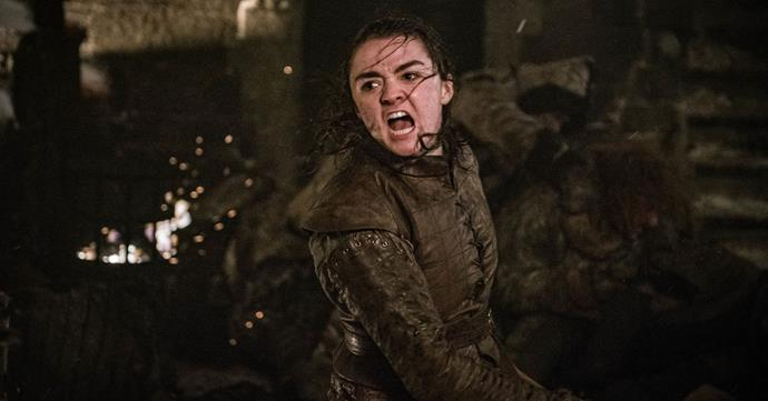 *The Night King* fell at the hands of Arya Stark (Image: Helen Sloan/HBO)