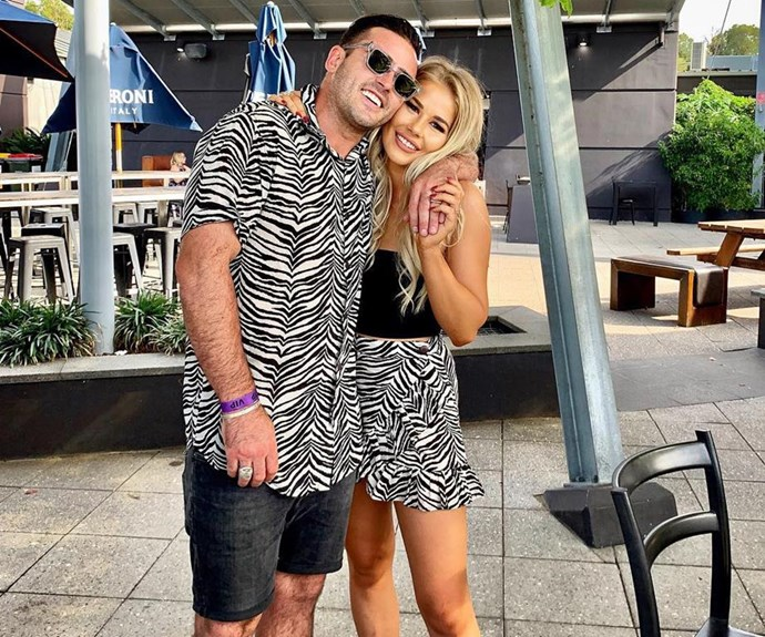 Davey Lloyd and his new girlfriend, Georgia. *(Source: Instagram/DaveyLloyd)*