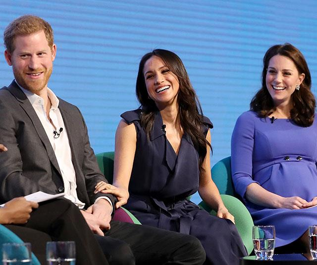 """""""Kate knows William and Harry used to be incredibly close and she wants them to have that bond again. She's trying to play peacemaker."""" *(Image: Getty)*"""